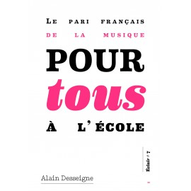 Le pari français de la musique pour tous à l'école